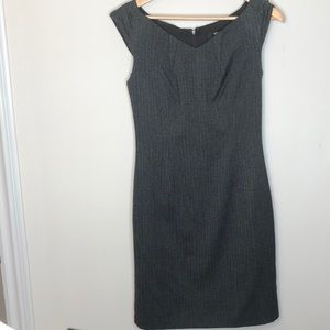 Houndstooth sheath dress